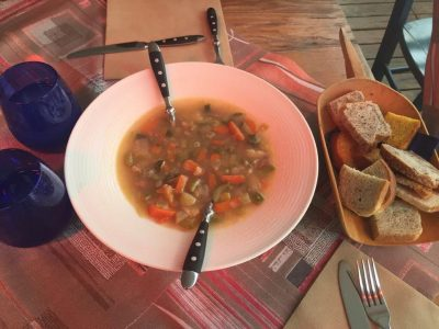 Sehr gut Essen im Bella Grado